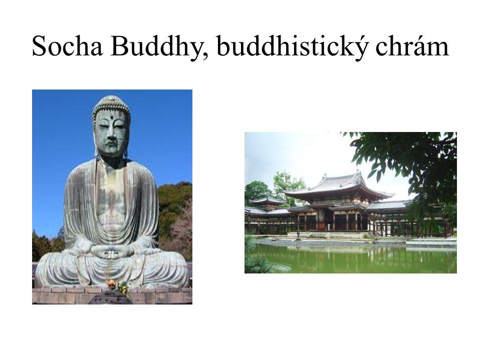 Socha Buddhy, buddhistický chrám