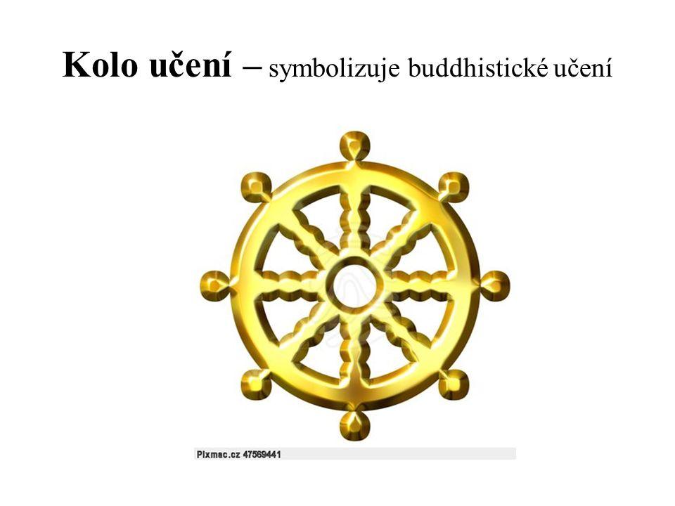 Kolo učení – symbolizuje buddhistické učení