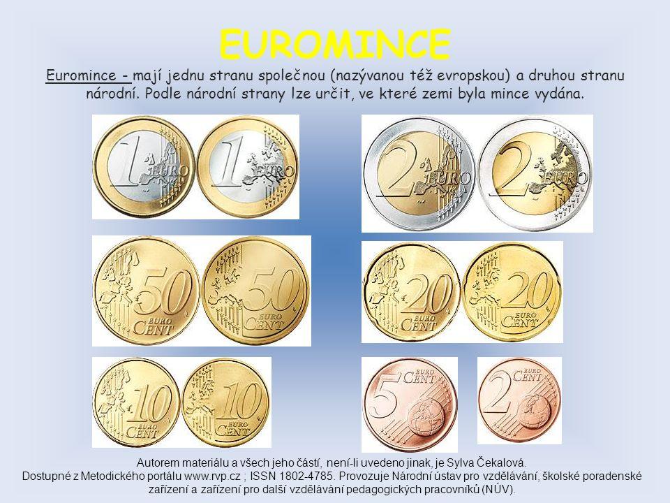 NÁRODNÍ EUROMINCE ( zadní strana mince - Belgie ) Autorem materiálu a všech jeho částí, není-li uvedeno jinak, je Sylva Čekalová.