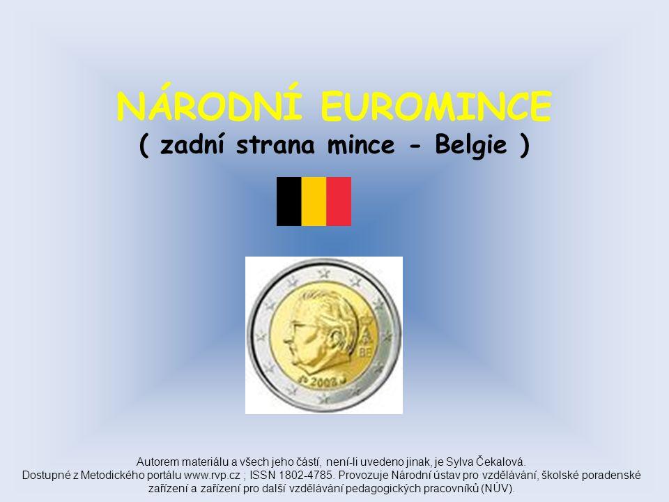 NÁRODNÍ EUROMINCE ( zadní strana mince – Francie ) Autorem materiálu a všech jeho částí, není-li uvedeno jinak, je Sylva Čekalová.