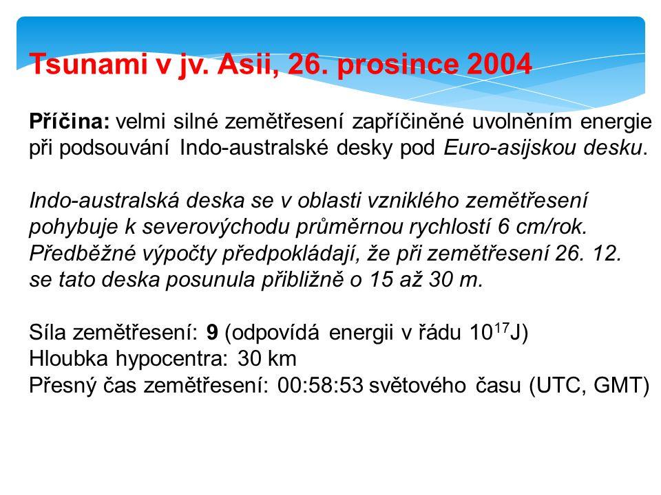 Tsunami v jv. Asii, 26.