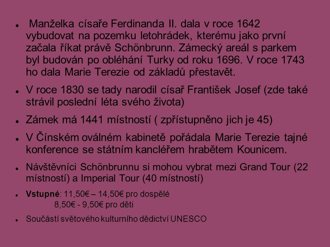 Manželka císaře Ferdinanda II.