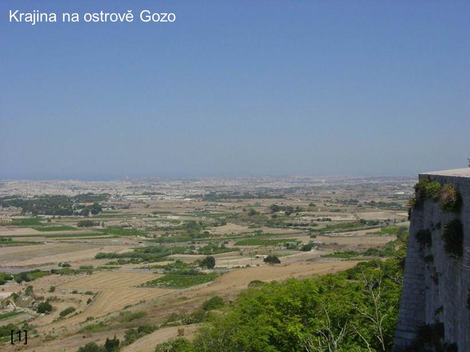 Krajina na ostrově Gozo [1]