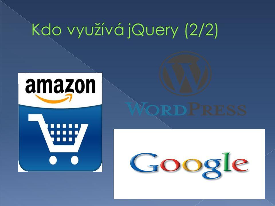  http://www.jqueryui.com http://www.jqueryui.com  Knihovna s otevřeným zdrojovým kódem  Okamžitě použitelné komponenty  4 kategorie: › Interakce › Ovládací prvky › Efekty › Pomocné nástroje  Možnost stylování  K dispozici motivy vzhledů