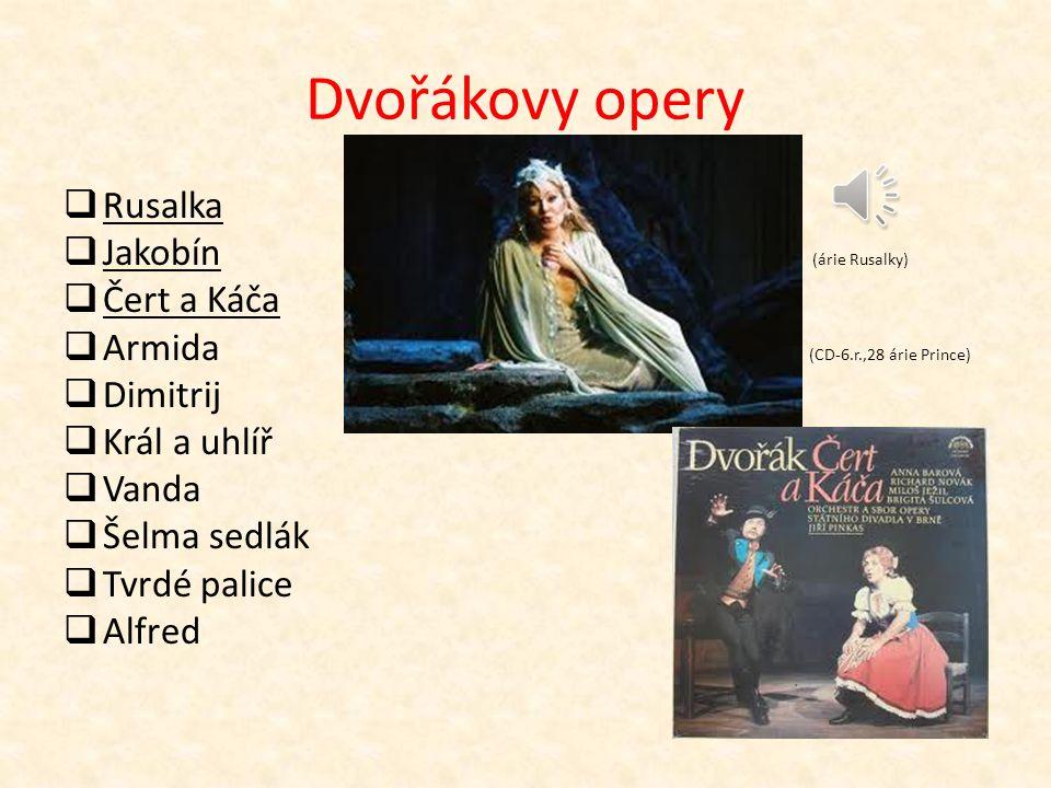 Antonín Dvořák (1841 – 1904) 19.století a poč.20.