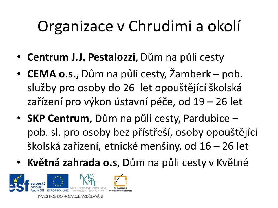 Organizace v Chrudimi a okolí Centrum J.J.