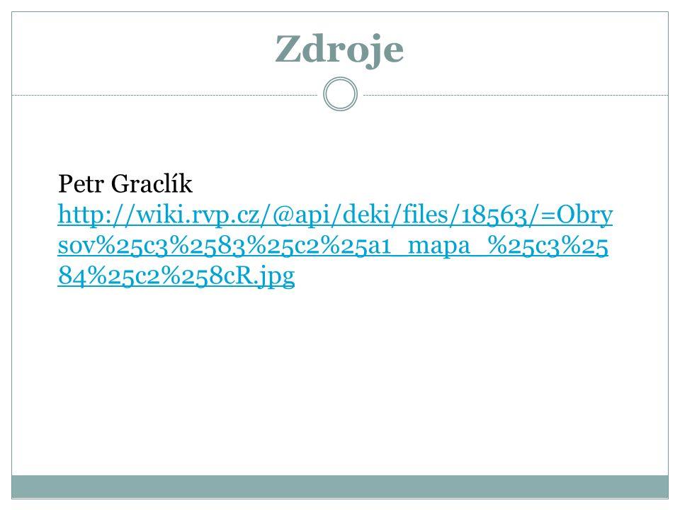 Zdroje Petr Graclík http://wiki.rvp.cz/@api/deki/files/18563/=Obry sov%25c3%2583%25c2%25a1_mapa_%25c3%25 84%25c2%258cR.jpg http://wiki.rvp.cz/@api/dek