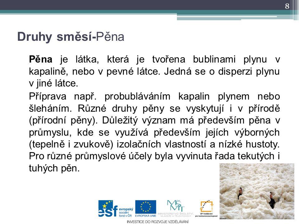 http://che1.lf1.cuni.cz/html/cz_BOZP_praktika_lek_2R.html http://cs.wikipedia.org/wiki/Sm%C4%9Bs http://exotickeovoce.webgarden.cz/i-smesi-a-roztoky http://www.ped.muni.cz/wchem/sm/hc/ZFC/laborad.htm http://www.progast.cz/masny-prumysl/moguntia-international/ http://www.micrecol.de/glossuspE.html http://www.chbmeng.ohio- state.edu/facultypages/wyslouzil/index.html http://cs.wikipedia.org/wiki/Emulze http://www.graham-laming.com/bd/nr.htm http://derosaaquatics.com/sid-filter-for-emulsion-glue/ http://cs.wikipedia.org/wiki/P%C4%9Bna http://www.the-lovgrens.com/kevin/Foam_Waves.html dum.rvp.cz/materialy/stahnout.html?s=zezsqrbh 9 Literatura, zdroje informací Vše dostupné online 15.8.2011