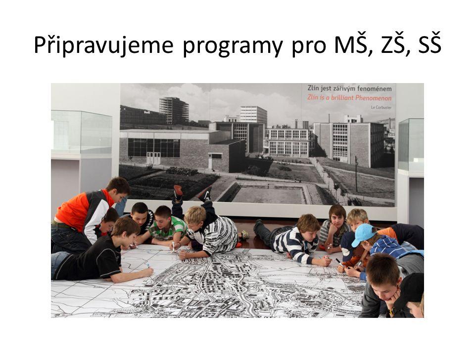 Připravujeme programy pro MŠ, ZŠ, SŠ