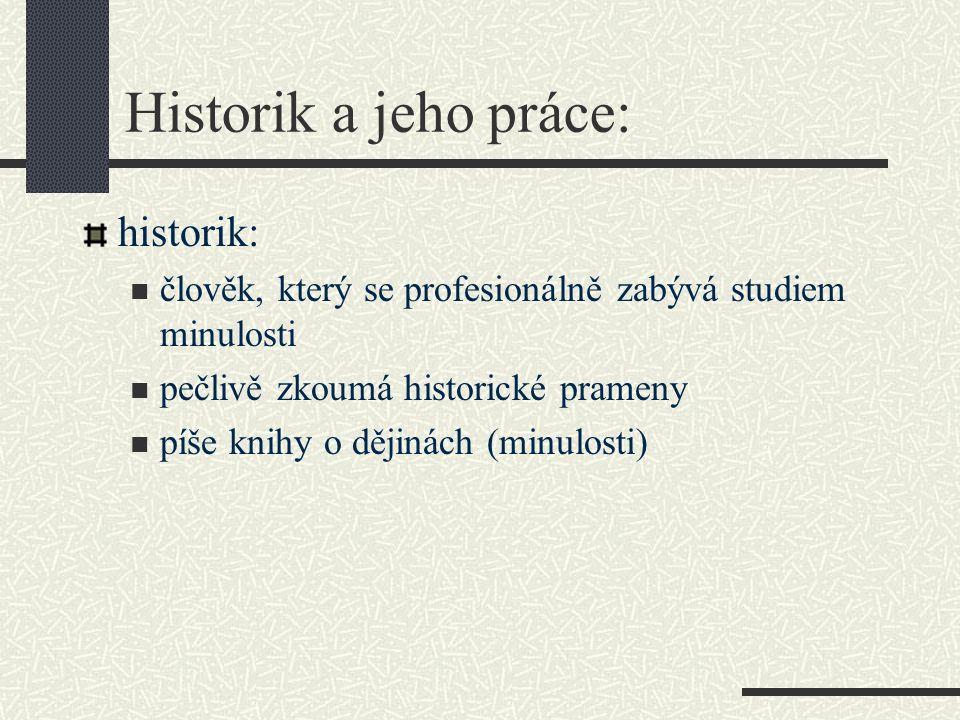 Písemné historické prameny: zákony, seznamy králů, listiny, dopisy, deníky, kroniky aj.