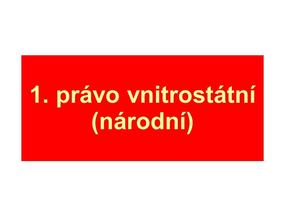 1. právo vnitrostátní (národní)