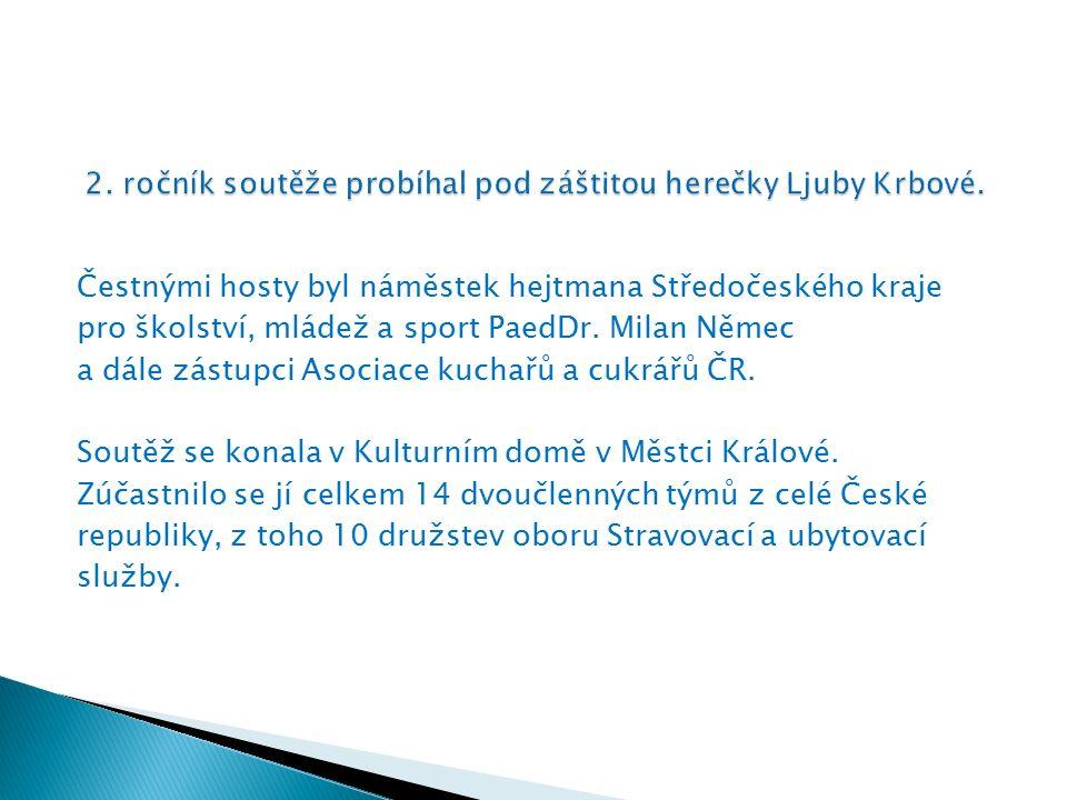 Čestnými hosty byl náměstek hejtmana Středočeského kraje pro školství, mládež a sport PaedDr.