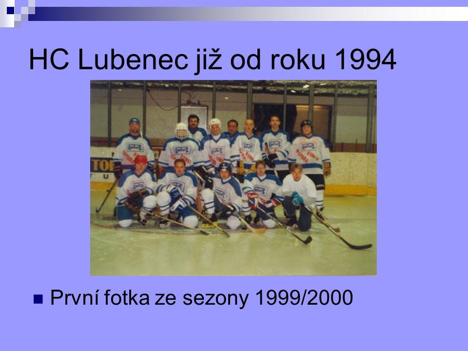 HC Lubenec již od roku 1994 První fotka ze sezony 1999/2000