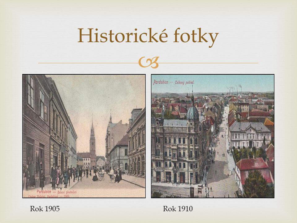  Historické fotky Rok 1910Rok 1905
