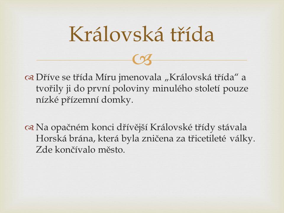   http://www.slavomirhorak.net/news/pardubice-pamarky-trida- miru/ http://www.slavomirhorak.net/news/pardubice-pamarky-trida- miru/  http://ipardubice2.sweb.cz/historie/trmiru.html http://ipardubice2.sweb.cz/historie/trmiru.html  http://www.fotohistorie.cz/Pardubicky/Pardubice/Pardubice/P ardubice_-_trida_Miru/Default.aspx http://www.fotohistorie.cz/Pardubicky/Pardubice/Pardubice/P ardubice_-_trida_Miru/Default.aspx  http://pardubice.idnes.cz/v-pardubicich-probiha-nejvetsi- archeologicky-pruzkum-v-historii-pyp-/pardubice- zpravy.aspx?c=A140827_111541_pardubice-zpravy_jah http://pardubice.idnes.cz/v-pardubicich-probiha-nejvetsi- archeologicky-pruzkum-v-historii-pyp-/pardubice- zpravy.aspx?c=A140827_111541_pardubice-zpravy_jah  http://www.rozhlas.cz/pardubice/ohlednuti/_galerie/1041163?t ype=image&pozice=1 http://www.rozhlas.cz/pardubice/ohlednuti/_galerie/1041163?t ype=image&pozice=1 Odkazy