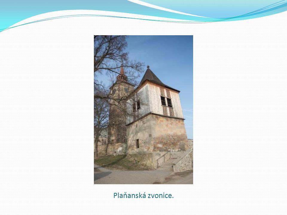 Plaňanská zvonice.