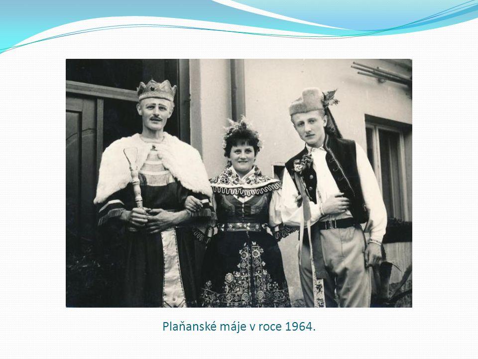 Plaňanské máje v roce 1964.