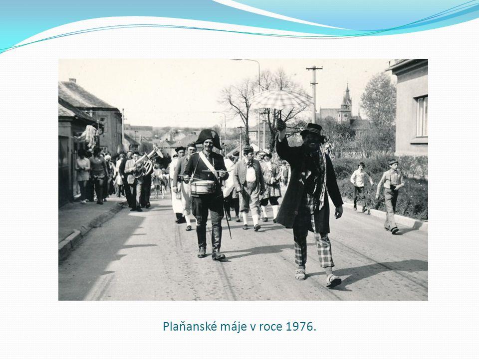 Plaňanské máje v roce 1976.