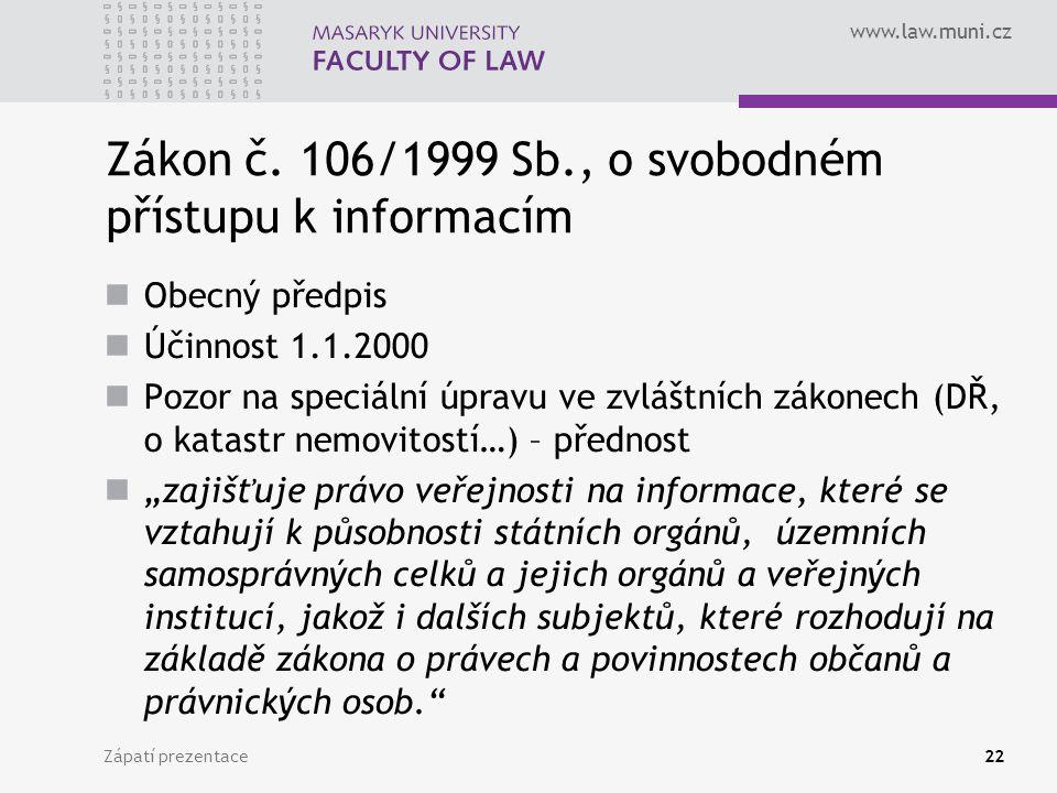 www.law.muni.cz Zákon č.
