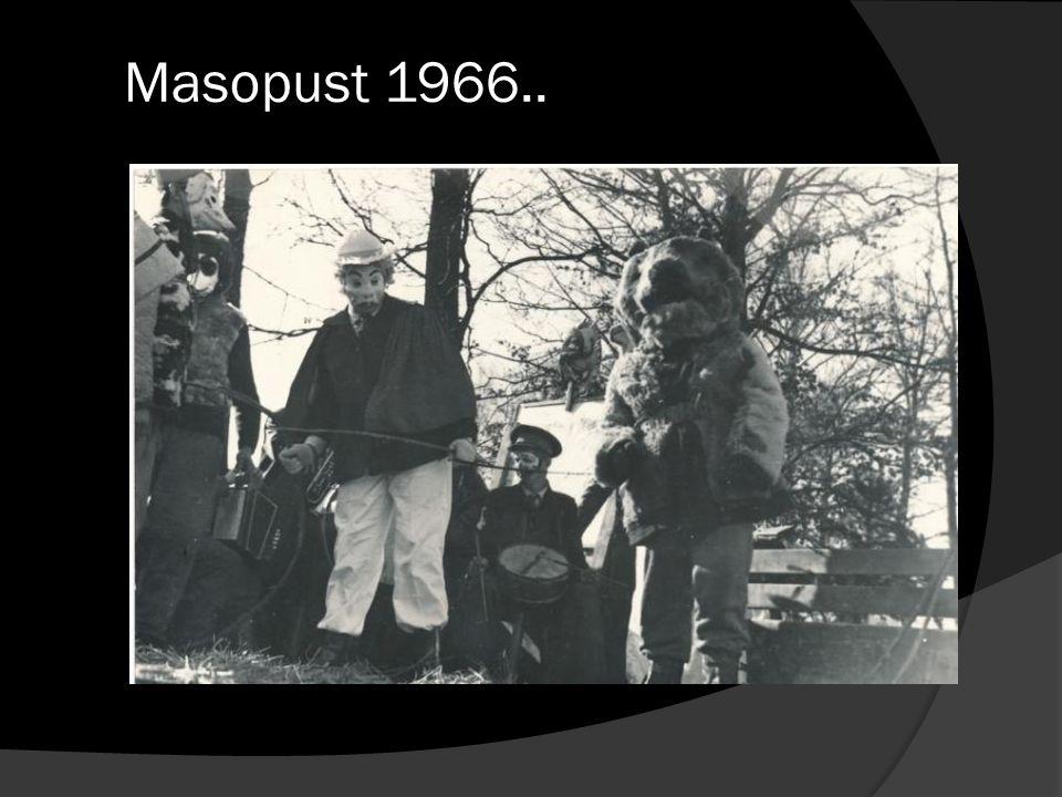 Masopust 1966..