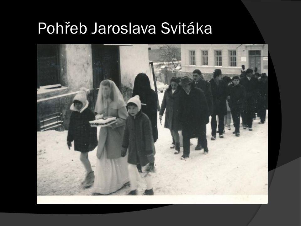 Pohřeb Jaroslava Svitáka