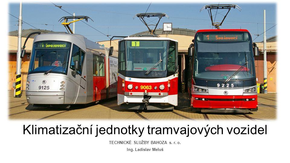 TECHNICKÉ SLUŽBY BAHOZA s. r. o. Klimatizační jednotky tramvajových vozidel Ing. Ladislav Meluš