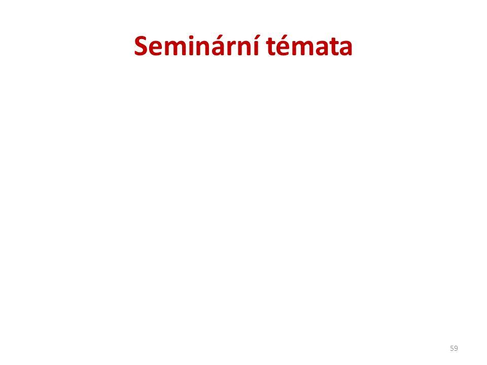 Seminární témata 59