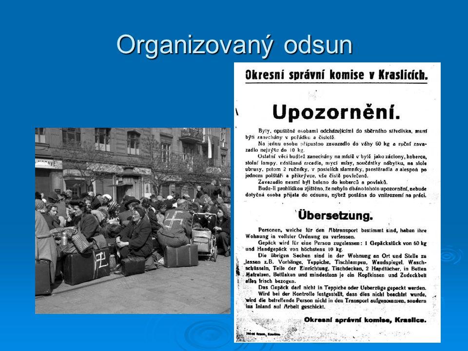 Organizovaný odsun
