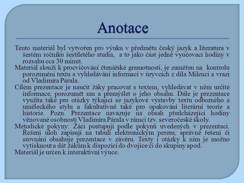 PÁRAL, Vladimír.Milenci a vrazi, Praha: Melantrich, 1990, ISBN 80-7023-023-1 Obr.