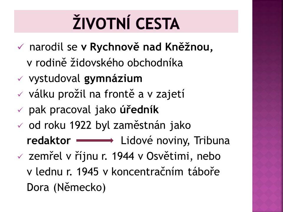 Zdroj: Vlastní tvorba Ilustrace: Karel Poláček.Www.google.cz [online].