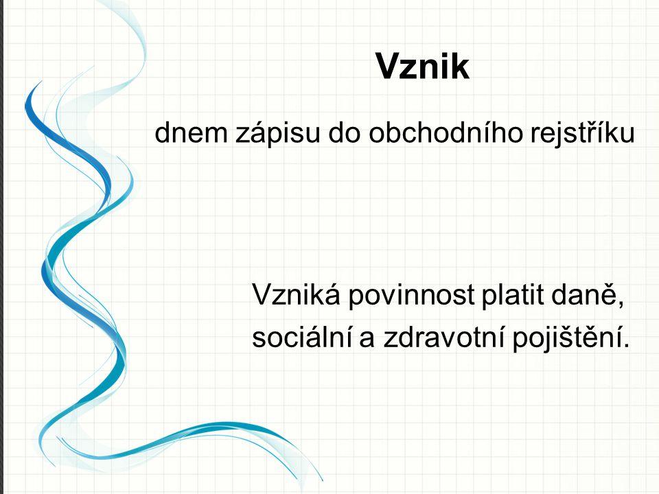 Obchodní rejstřík https://or.justice.cz/ias/ui/rejstrik-rozsirene veřejný seznam, do kterého se za poplatek zapisují údaje o podnikatelském subjektu
