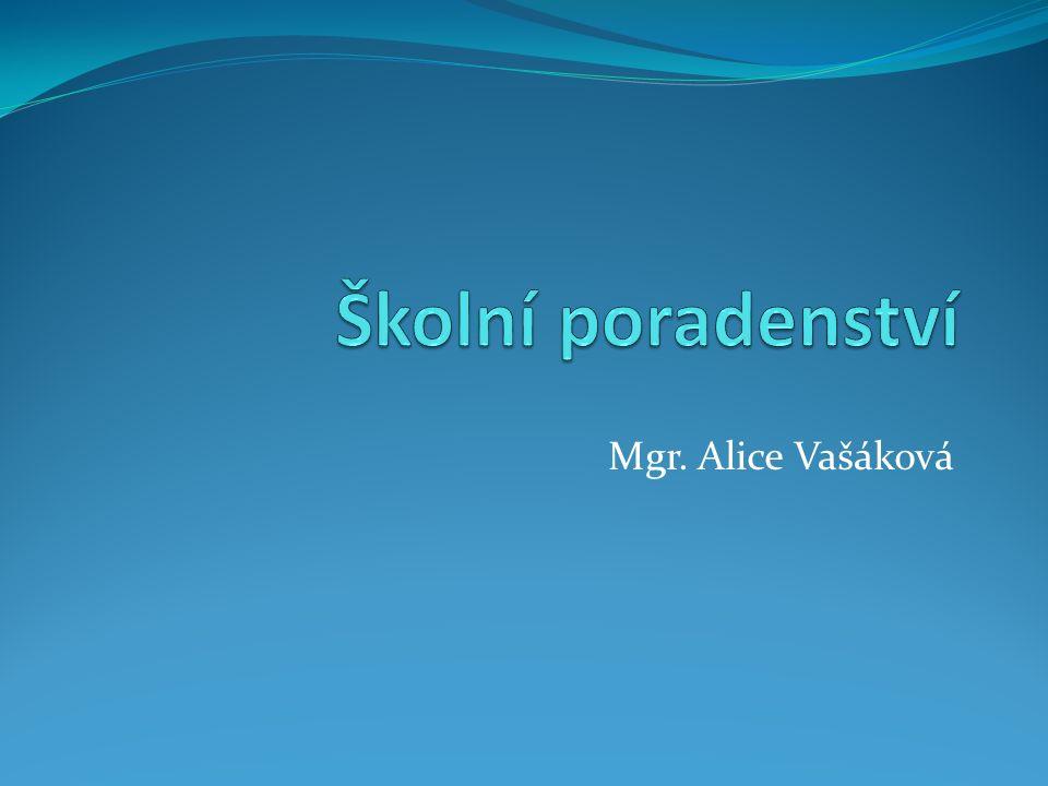 Mgr. Alice Vašáková