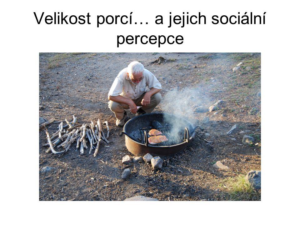 Velikost porcí… a jejich sociální percepce