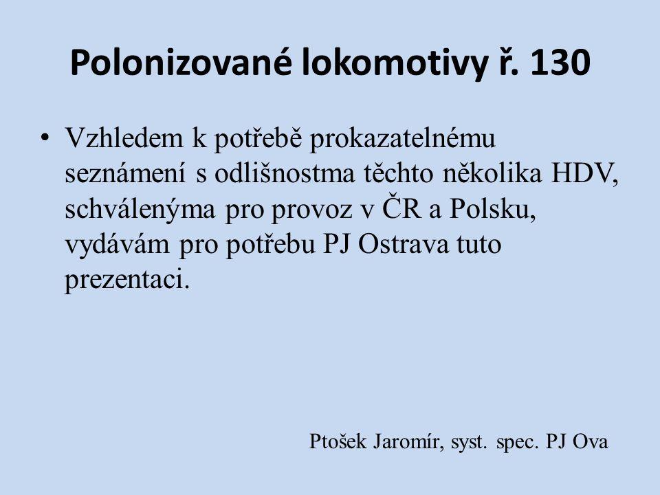 Polonizované lokomotivy ř.