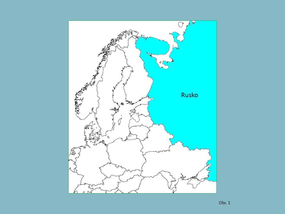 Obr. 1 Rusko