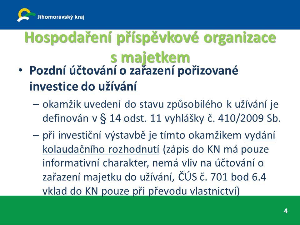 Nastavení a fungování kontrolních mechanismů V podpisovém vzoru směrnice k finanční kontrole je uvedeno sloučení všech tří funkcí - správce rozpočtu, hlavní účetní a příkazce operace –dle § 26 odst.
