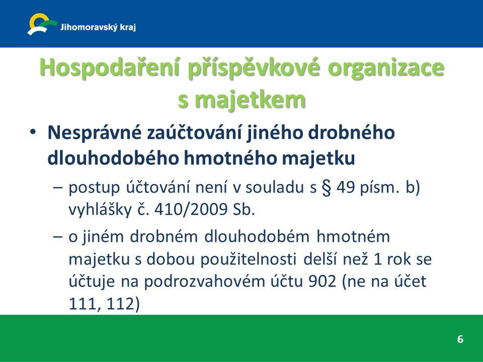 Doporučujeme dát interní směrnice do souladu s platnou legislativou 17