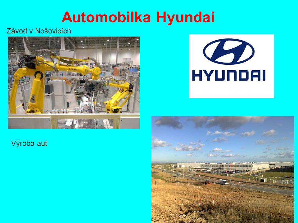 Automobilka Hyundai Závod v Nošovicích Výroba aut