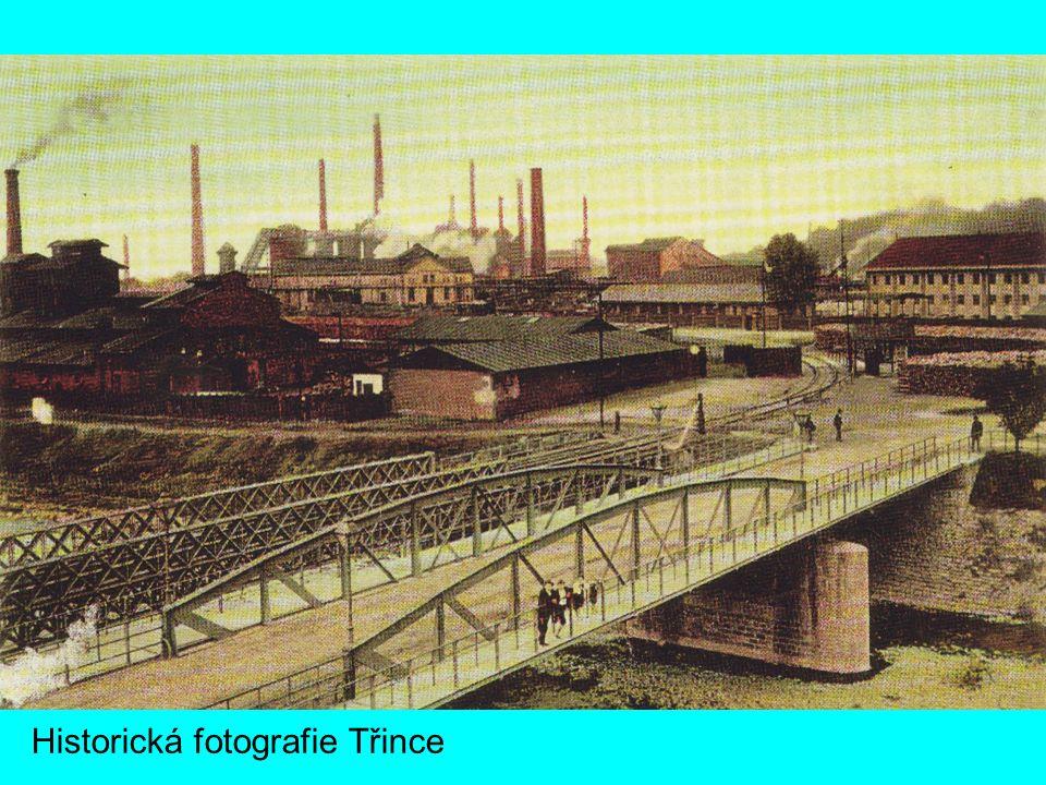 Historická fotografie Třince