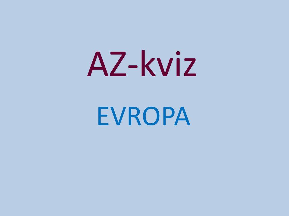 AZ-kviz EVROPA