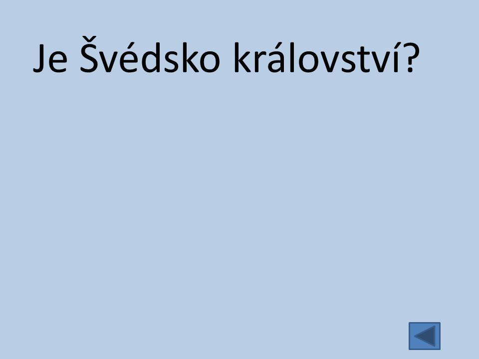 Je Švédsko království