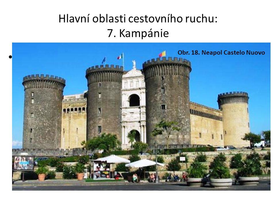 Hlavní oblasti cestovního ruchu: 7.