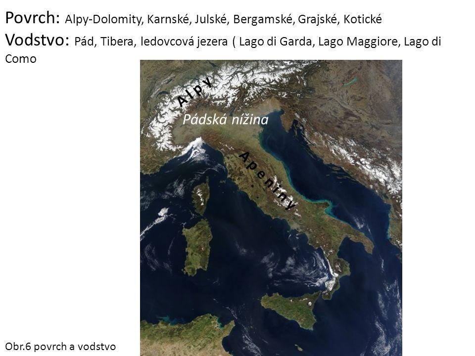 Nejnavštěvovanější města: Benátky Řím Florencie Janov Turín Miláno Neapol Palermo San Marino Pompeje Obr.