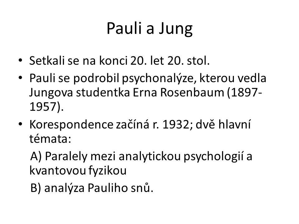 Pauli a Jung Setkali se na konci 20. let 20. stol.