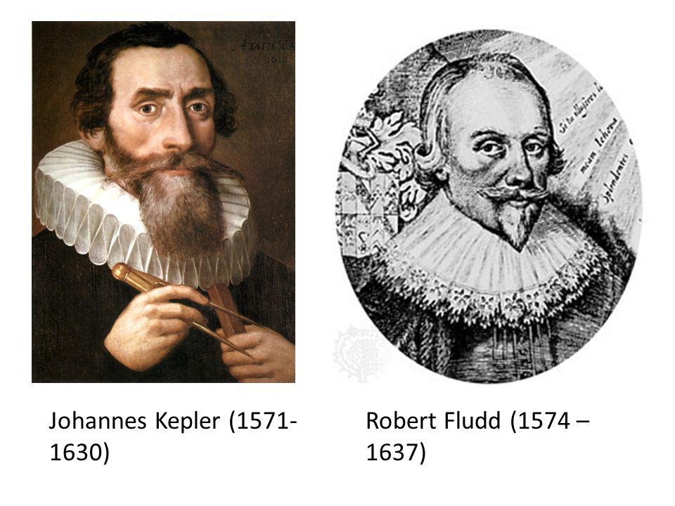Johannes Kepler (1571- 1630) Robert Fludd (1574 – 1637)