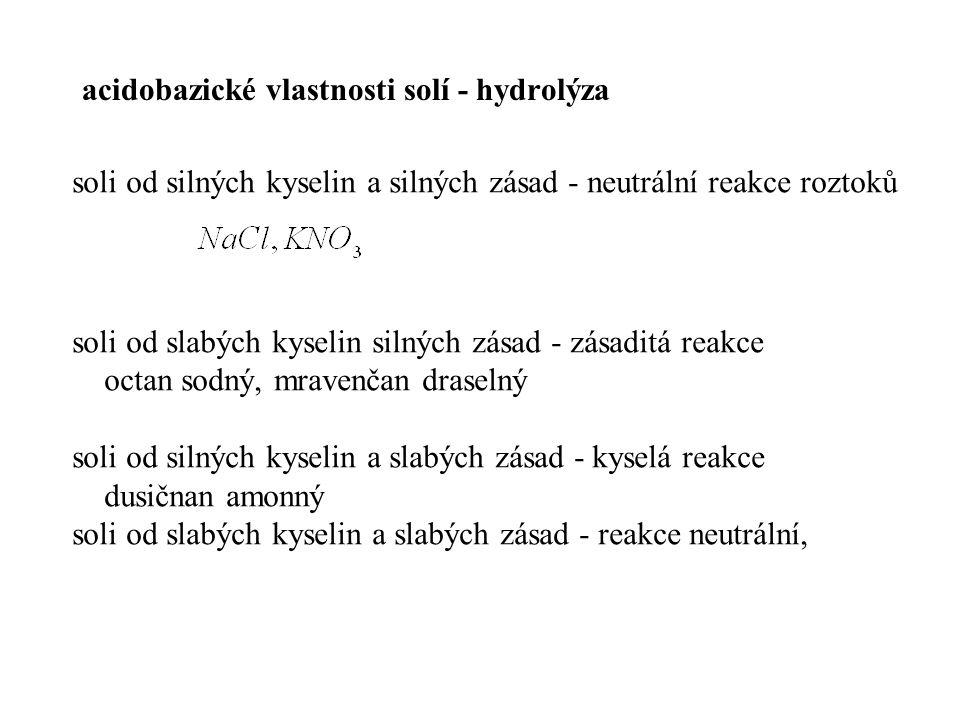 Použité zdroje Holinka, J.: Chemie komplex.příprava na VŠ.