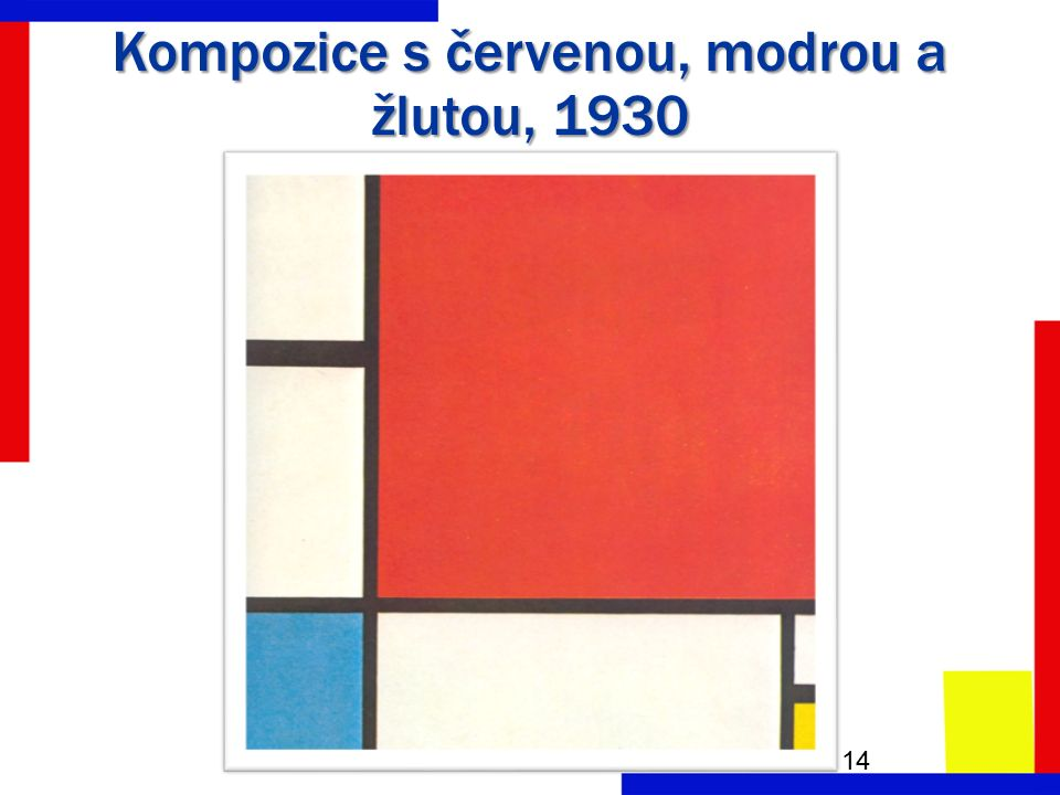 Kompozice s červenou, modrou a žlutou, 1930 14
