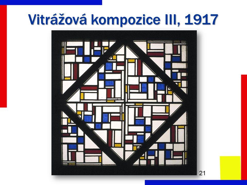 Vitrážová kompozice III, 1917 21