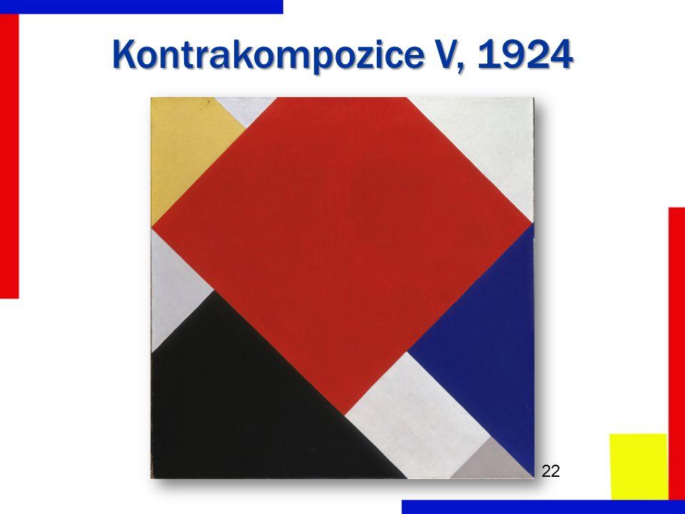 Kontrakompozice V, 1924 22