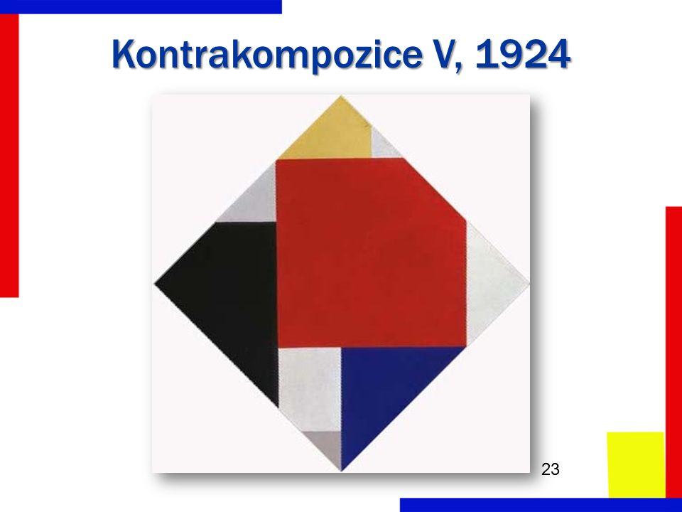 Kontrakompozice V, 1924 23